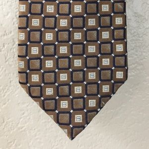 Canali men's silk neck tie made in Italy